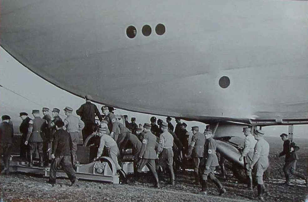 The Baggage crew for the Zeppelin